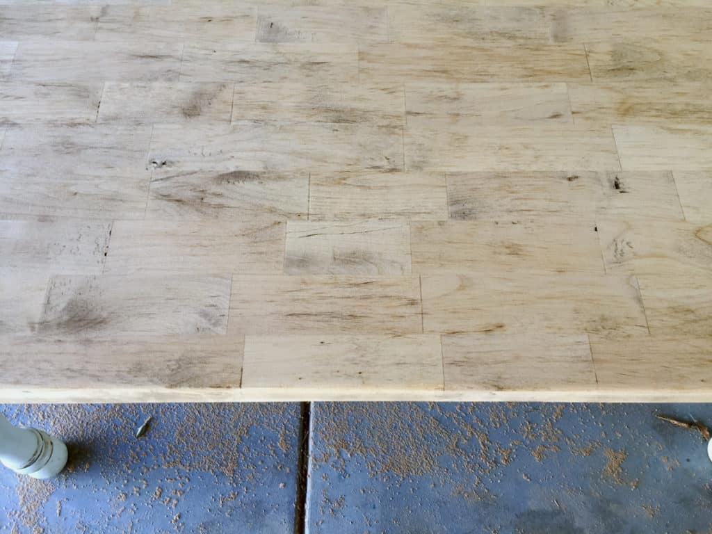 How To Refinish A Natural Wood Dining Room Tabletop finished