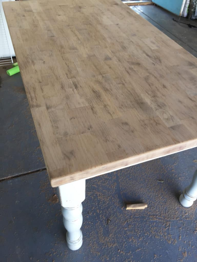 How To Refinish A Natural Wood Dining Room Tabletop finishing