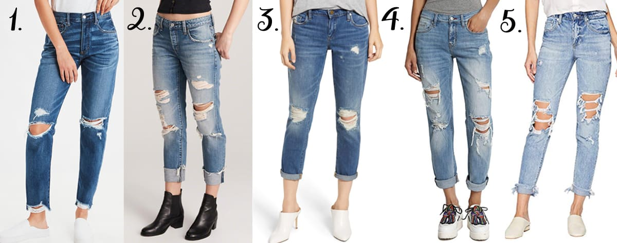 Top 5 Friday: Favorite Girlfriend Jeans In My Shopping Cart
