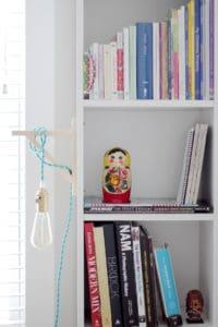 Bigg(er) Boy Room Makeover with Carpet One: The Reveal shelves 2