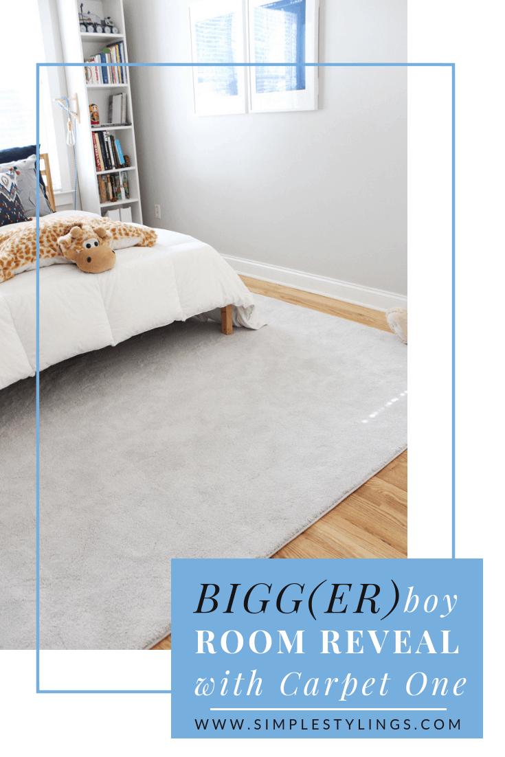 Bigg(er) Boy Room Makeover with Carpet One: The Reveal pin