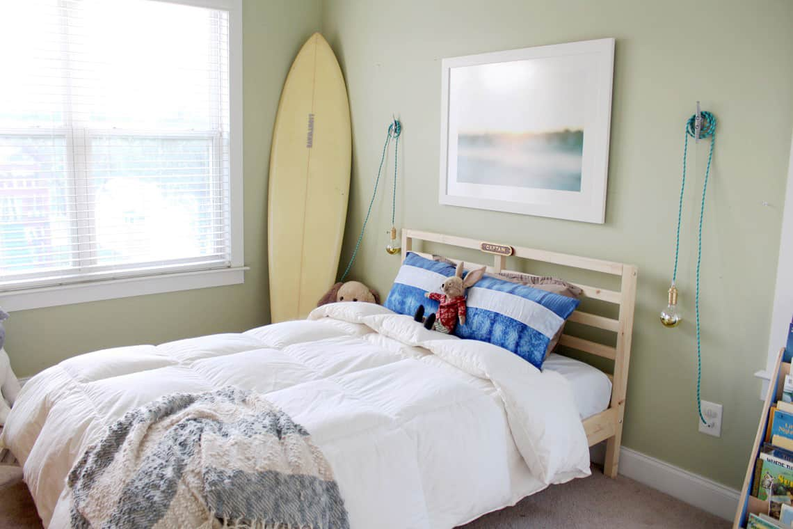 Bigg(er) Boy Room Makeover with Carpet One: The Before room