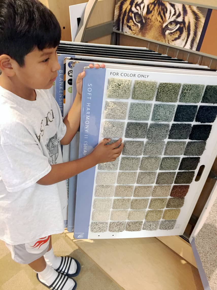 Bigg(er) Boy Room Makeover with Carpet One: The Before choices