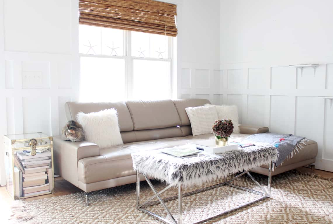 A Simple Fall Home Tour 2018 living room