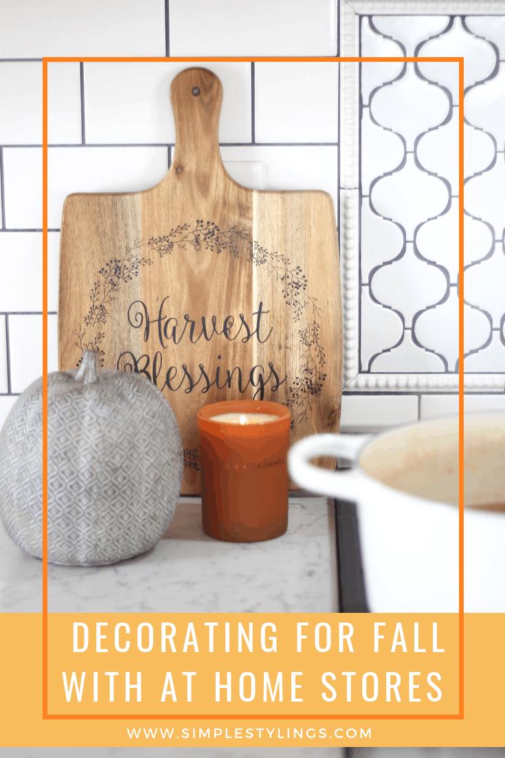 Cozy Fall Decorating Ideas + 2 Recipes pin image