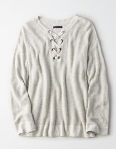 Top 5 Friday: My Favorite Slouchy Sweaters Under $100 lace up