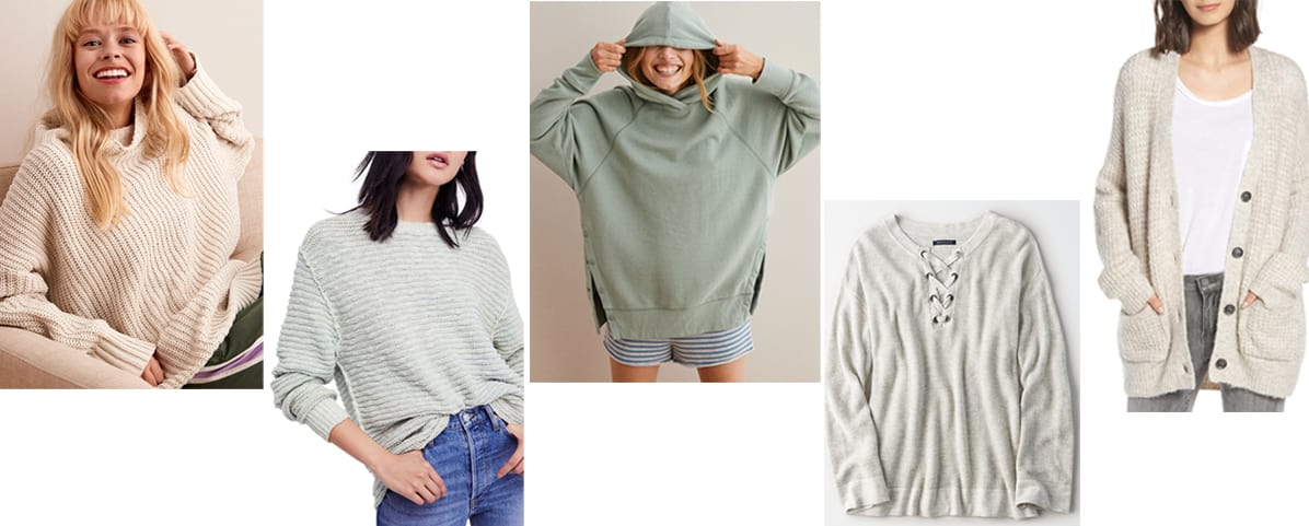 Top 5 Friday: My Favorite Slouchy Sweaters Under $100