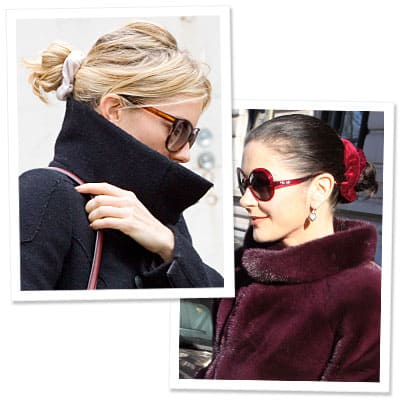 5 Reasons 1990's Fashion Styles Are Back! modern scrunchie