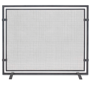 Top 5 Friday: Favorite Modern Fireplace Screens Under $300 simple
