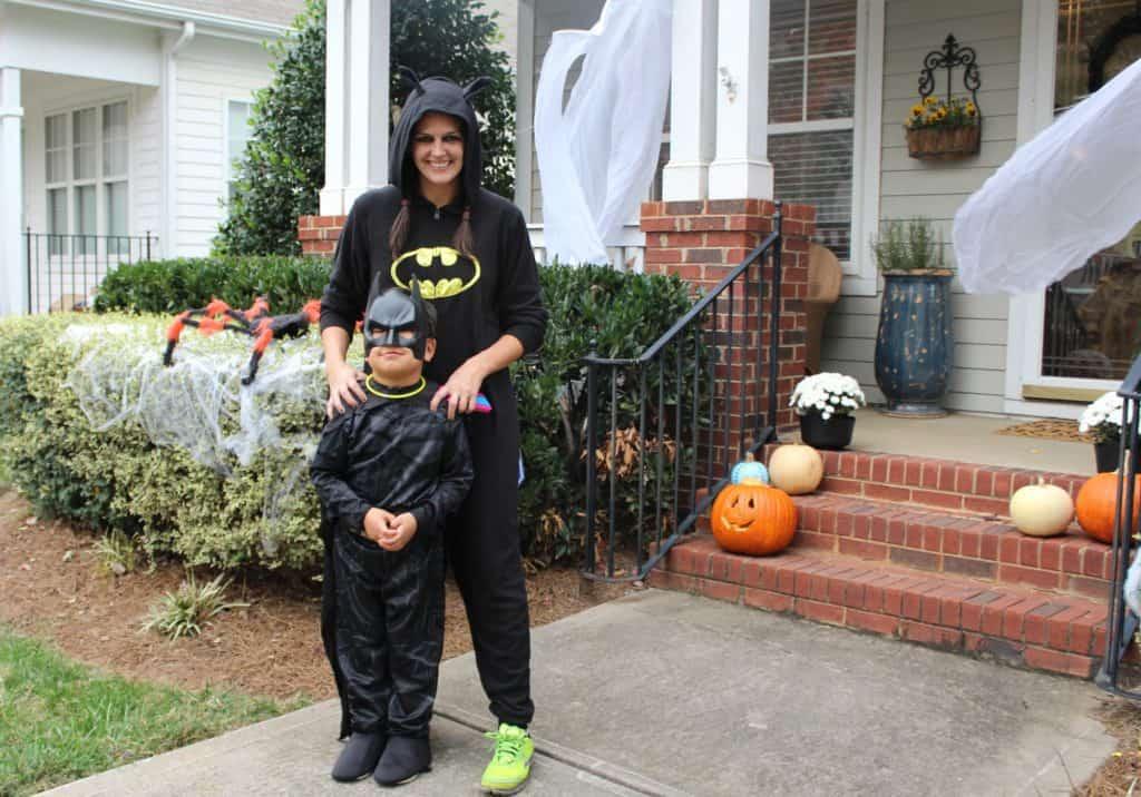 Ghosts of Halloween's Past batman
