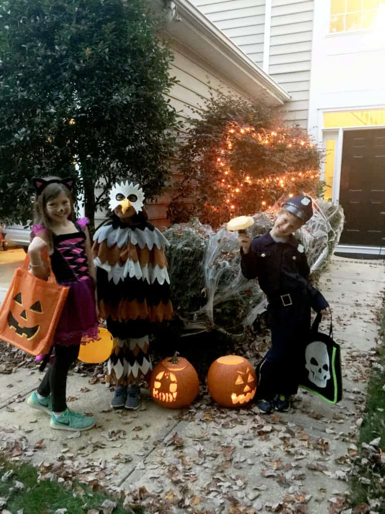 Ghosts of Halloween's Past mighty eagle