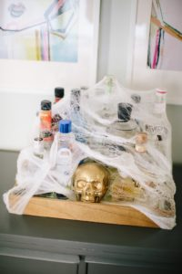 Ghosts of Halloween's Past spider web
