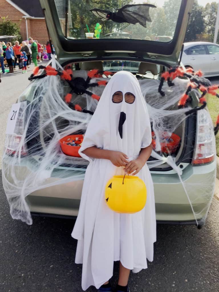 Ghosts of Halloween's Past trunk or treat