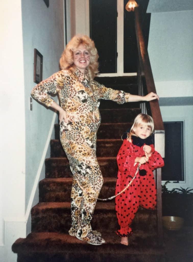 Ghosts of Halloween's Past leopard