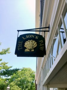 Nantucket Travel Guide: Stay, See, Eat, Do lion's paw