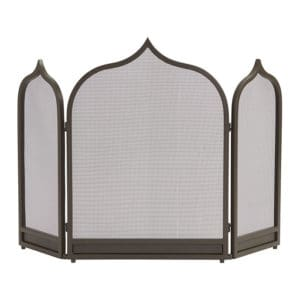 Top 5 Friday: Favorite Modern Fireplace Screens Under $300 moroccan