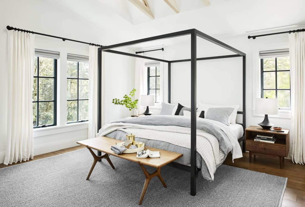 November Favorites + What's New Around The House four poster bed