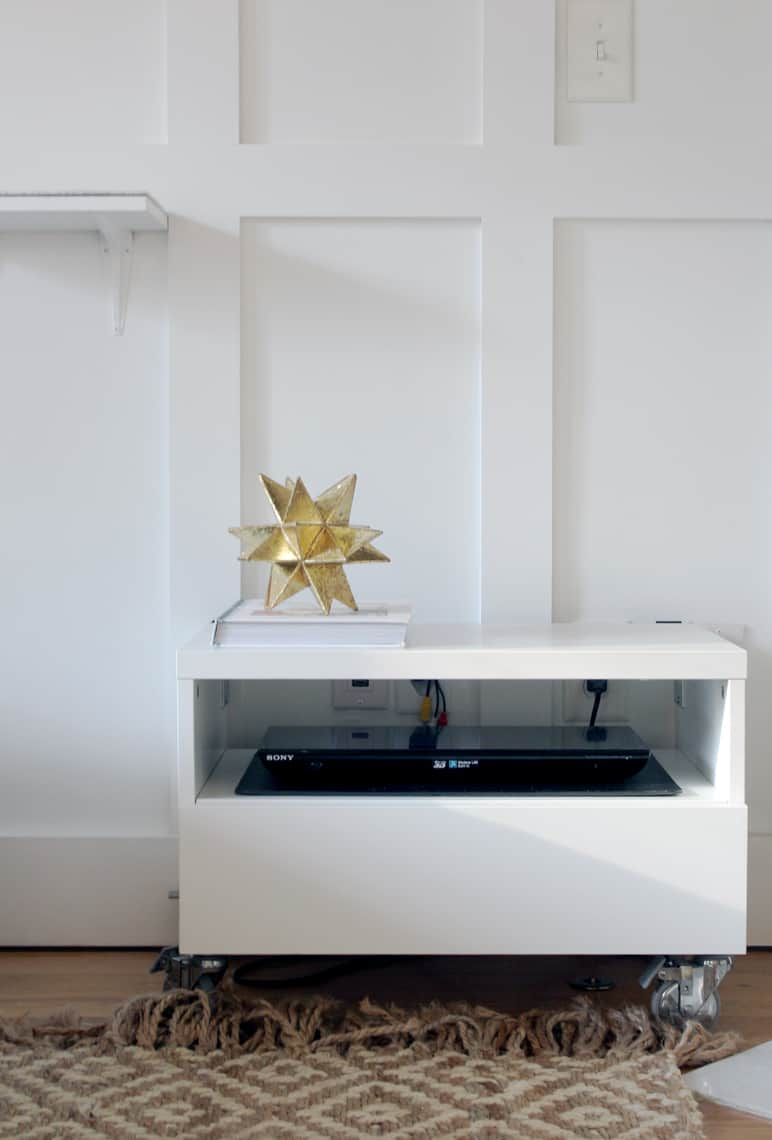 A Gold + Silver Christmas of Lights with At Home star