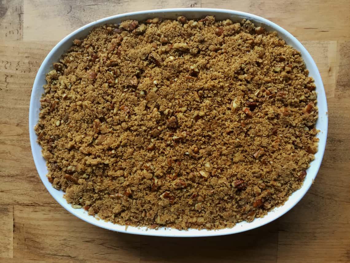 A Healthier Sweet Potato Casserole Recipe (Gluten Free) directions