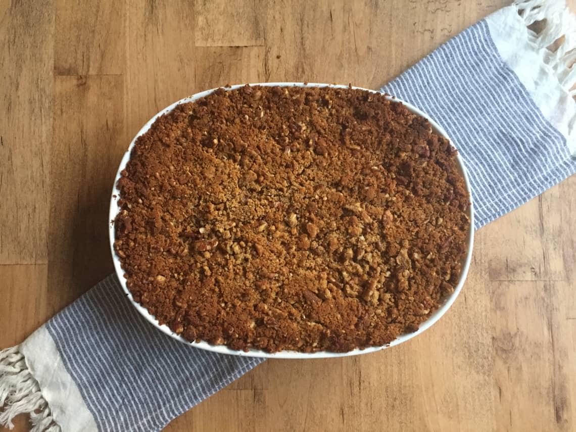 A Healthier Sweet Potato Casserole Recipe (Gluten Free)