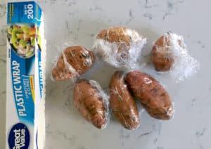 A Healthier Sweet Potato Casserole Recipe (Gluten Free) bake
