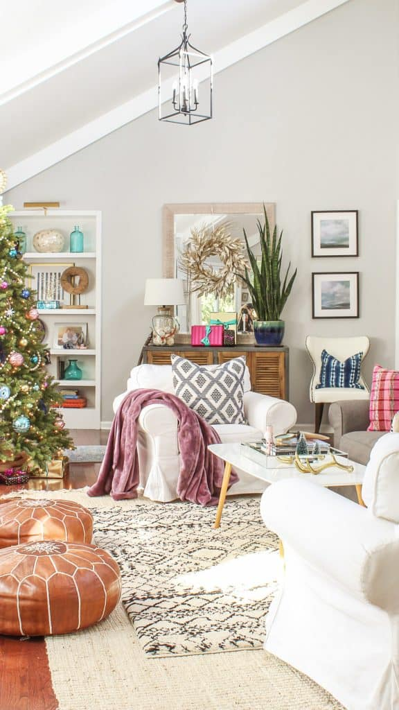 Top 5 Friday: Favorite Christmas Decorating Themes boho chic
