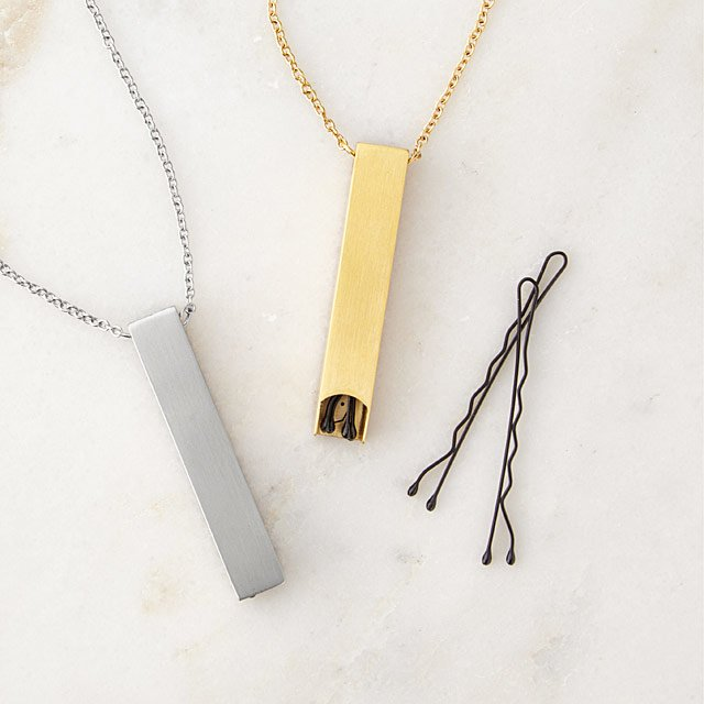 Top 5 Friday: 5 Favorite Original Christmas Gift Ideas bobby pin necklace