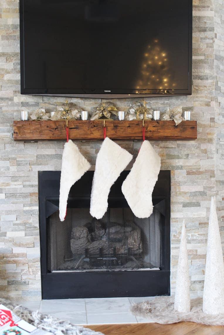2018 Christmas Home Tour: A Kid-Friendly Christmas stockings