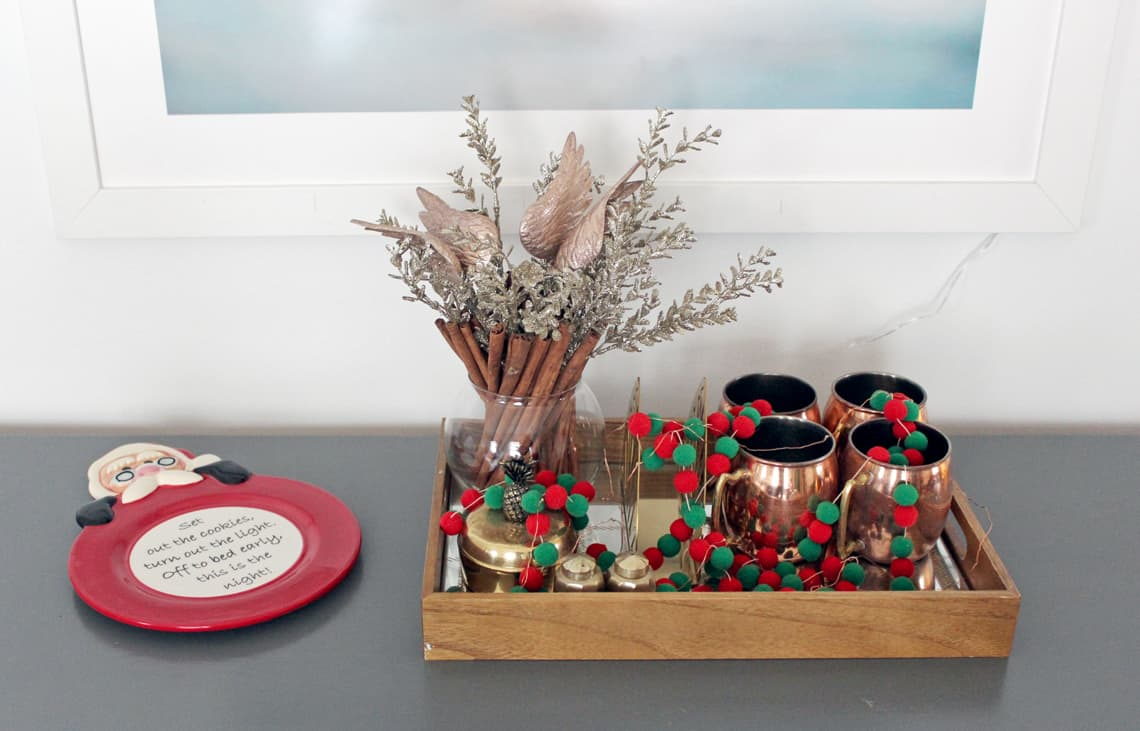 2018 Christmas Home Tour: A Kid-Friendly Christmas cookie plate
