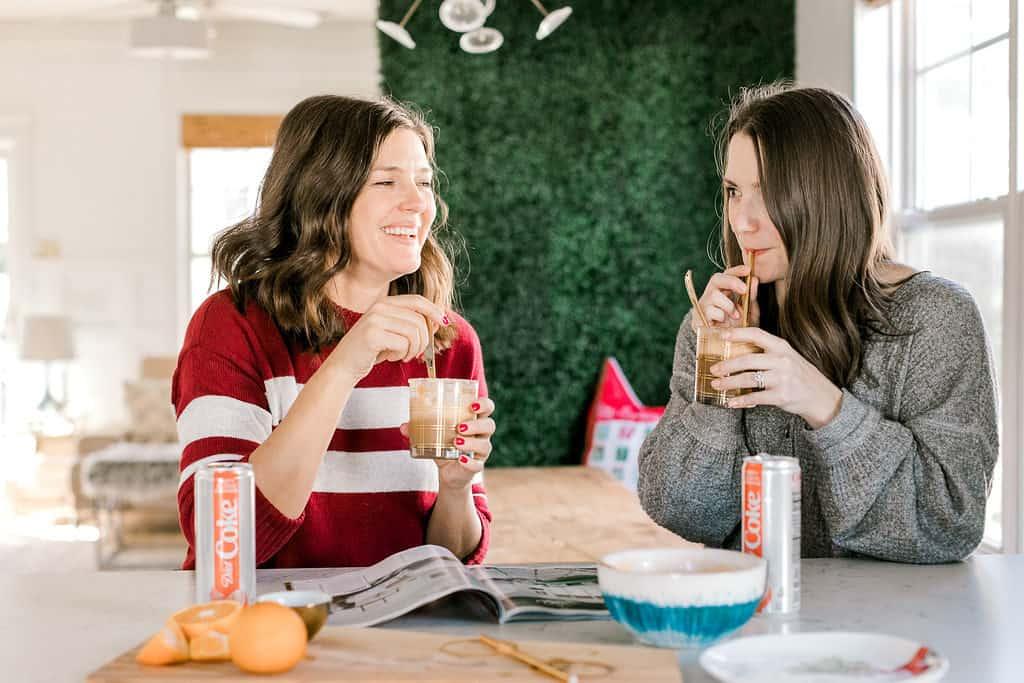 Treat Yourself + A Diet Coke Float Recipe friends