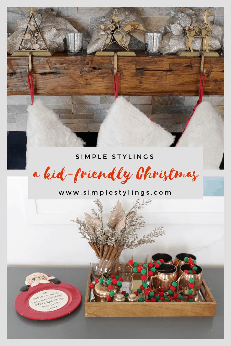 2018 Christmas Home Tour: A Kid-Friendly Christmas pin