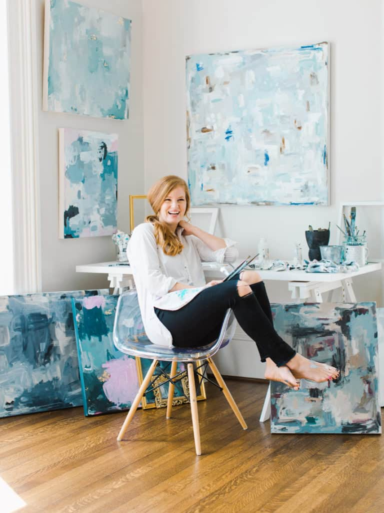 Local Spotlight: Kelly Hovis Designs + A Giveaway candid