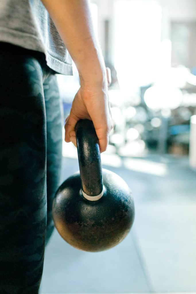 How Crossfit Changed My Life kettle bell