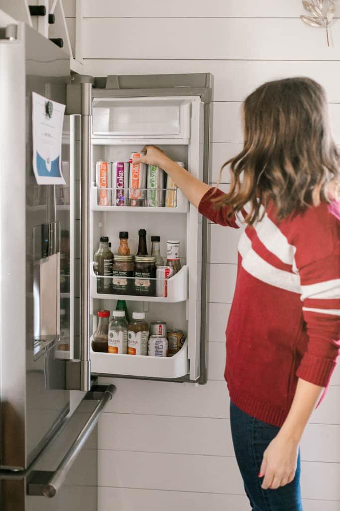 Treat Yourself + A Diet Coke Float Recipe fridge