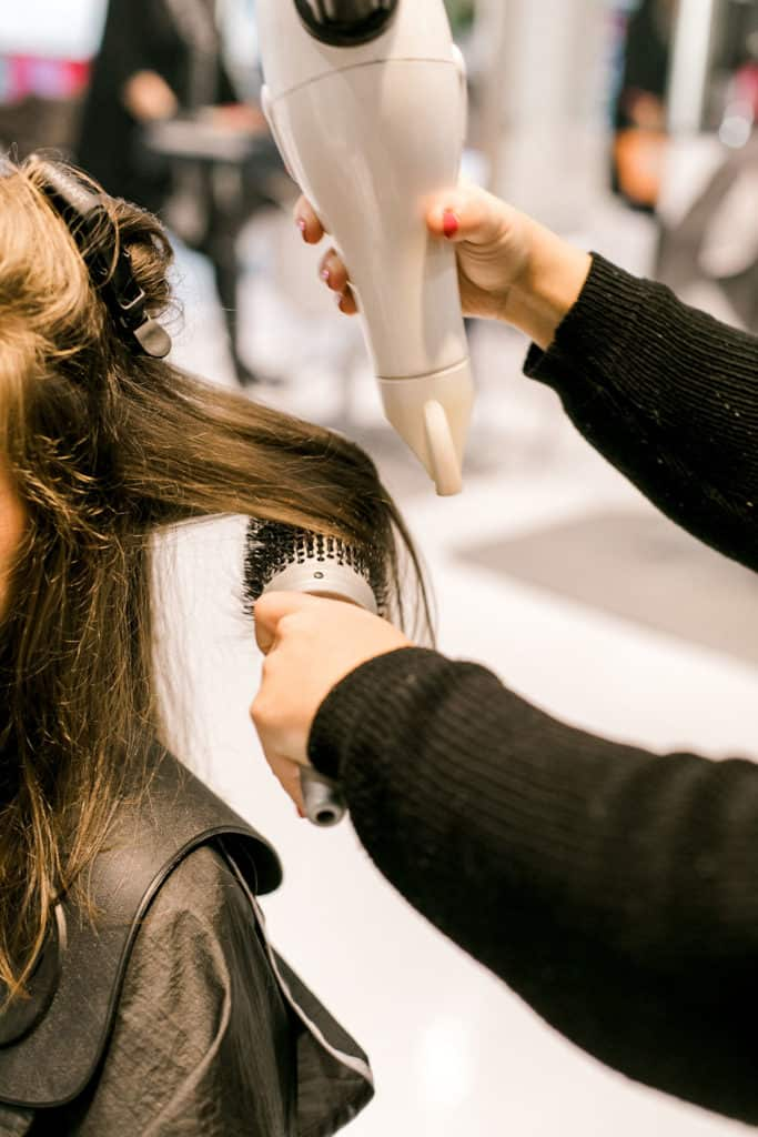 Local Spotlight: Hudson Salon + A Gift For You dry