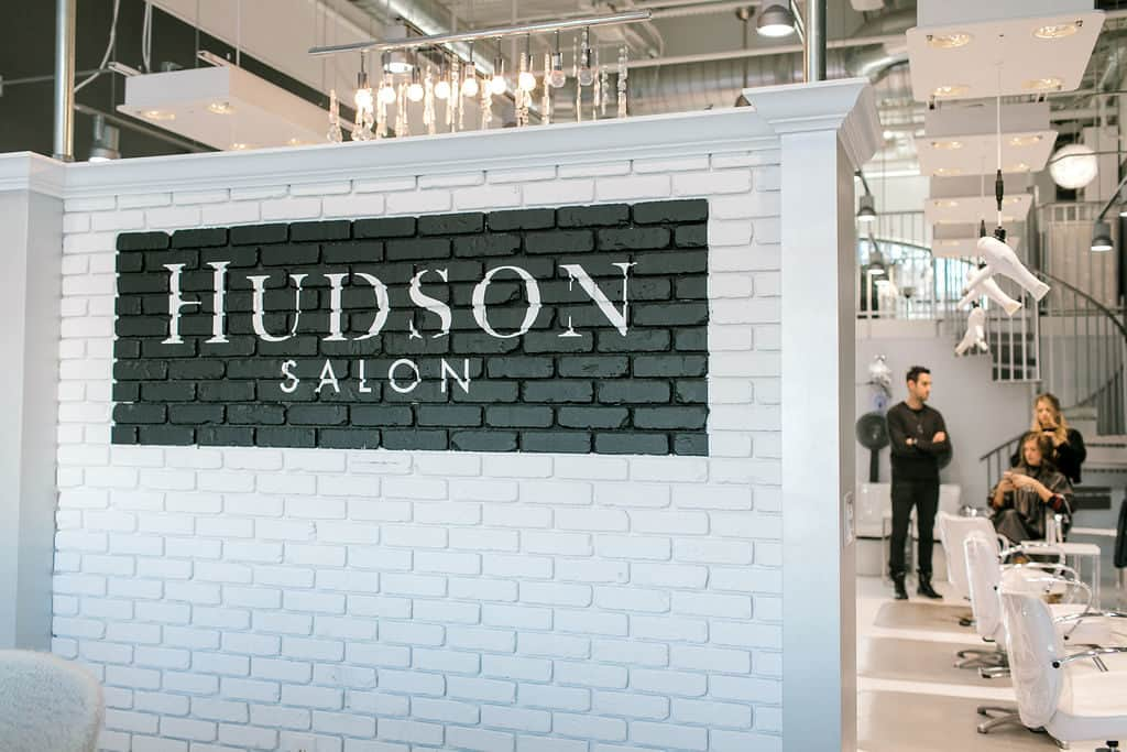 Local Spotlight: Hudson Salon + A Gift For You sign