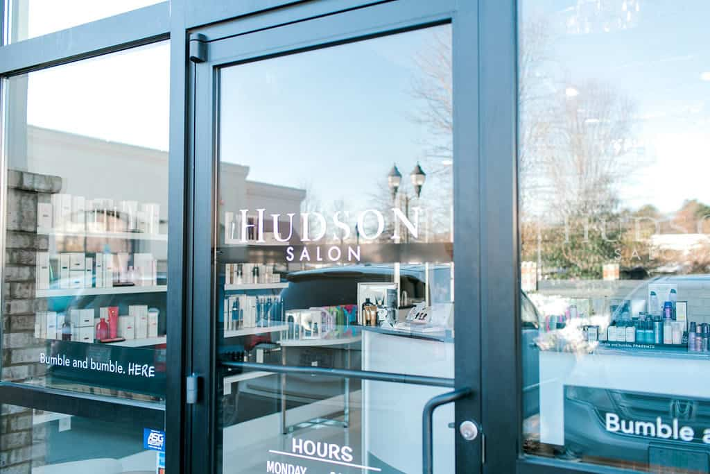 Local Spotlight: Hudson Salon + A Gift For You door