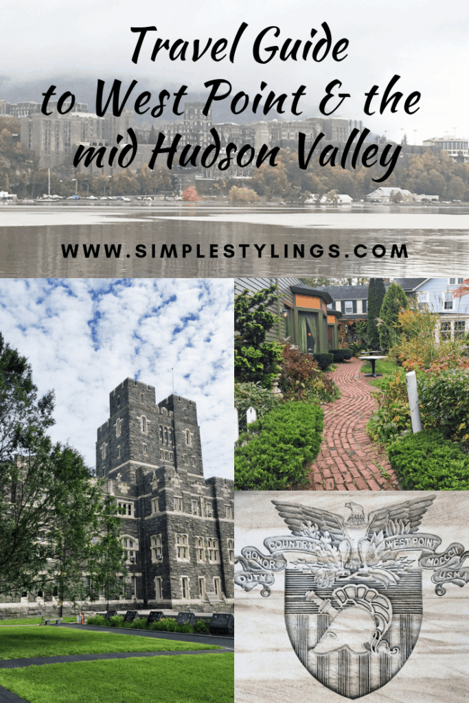 Travel Guide to West Point NY and the (mid) Hudson Valley pin