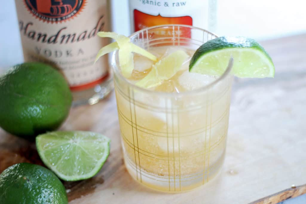 A Clean Ginger Cocktail Recipe