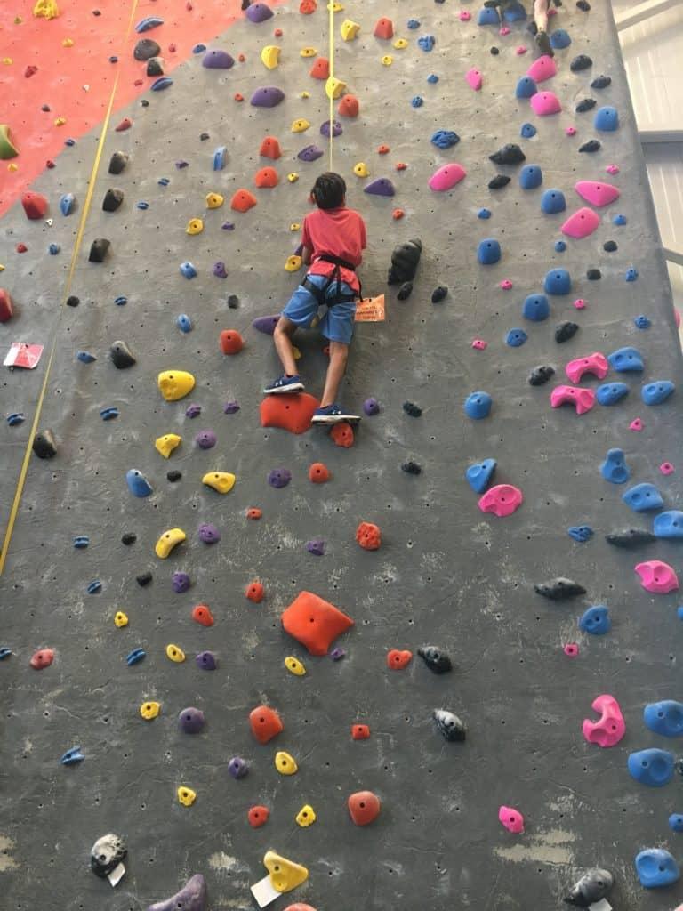 I'M BAAAAACK!!!! And we've been busy! climbing