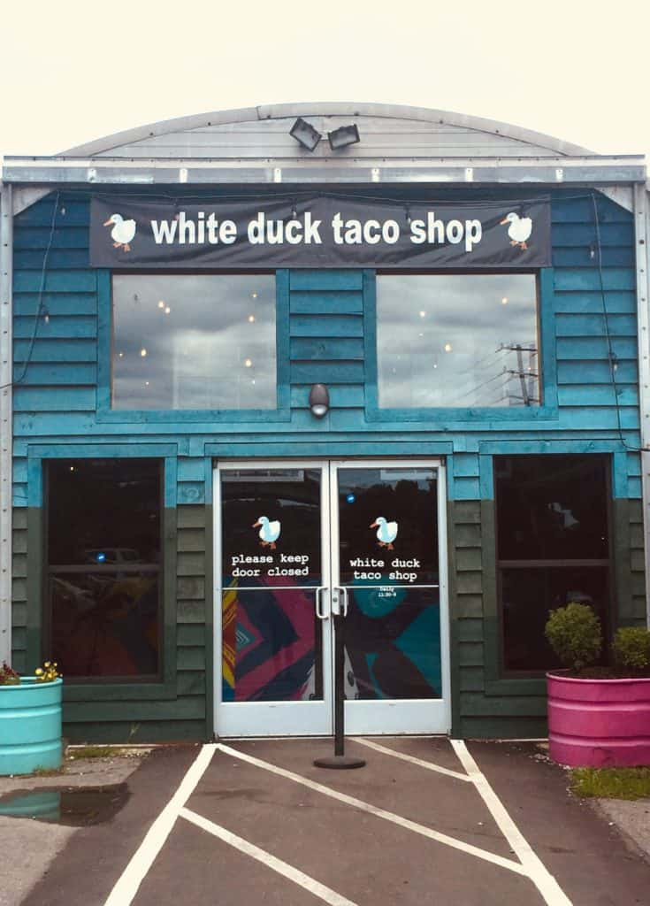 asheville white duck taco