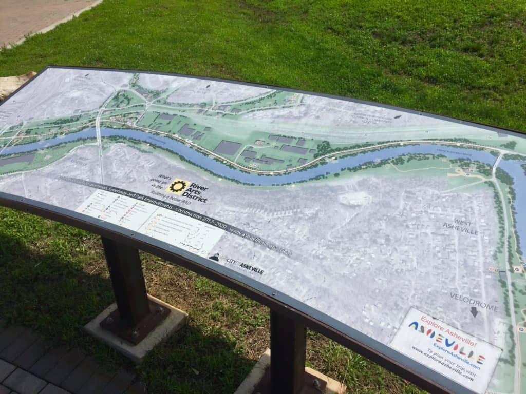 asheville bike trail
