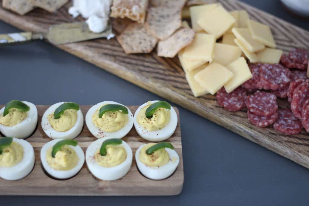 A Spicy Deviled Egg Recipe