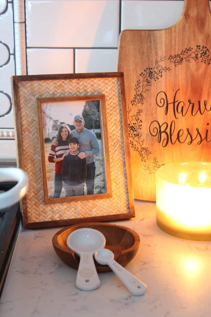 At Home Fall Tablescape family