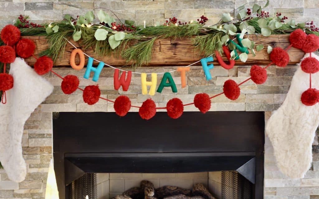 Our 2019 Festive Christmas Living Room