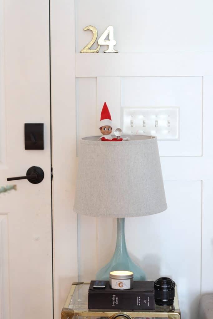 Our 2019 Festive Christmas Living Room elf