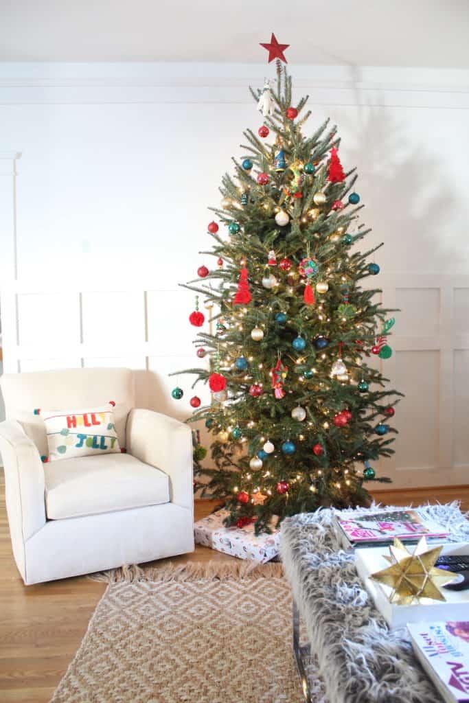 Christmas Living Room tree
