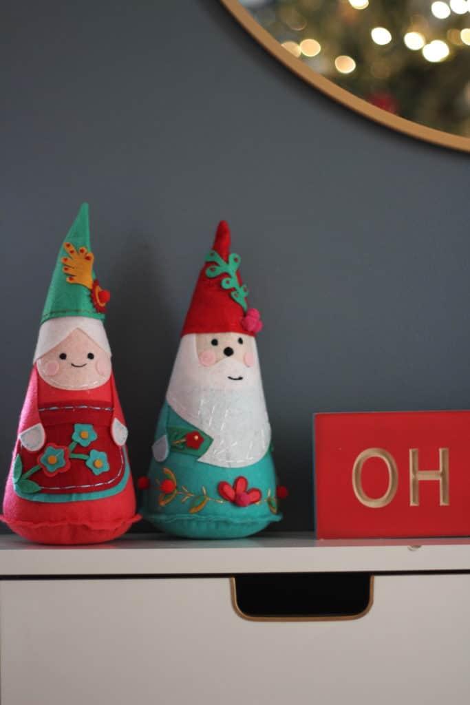 Our 2019 Festive Christmas Living Room santa claus