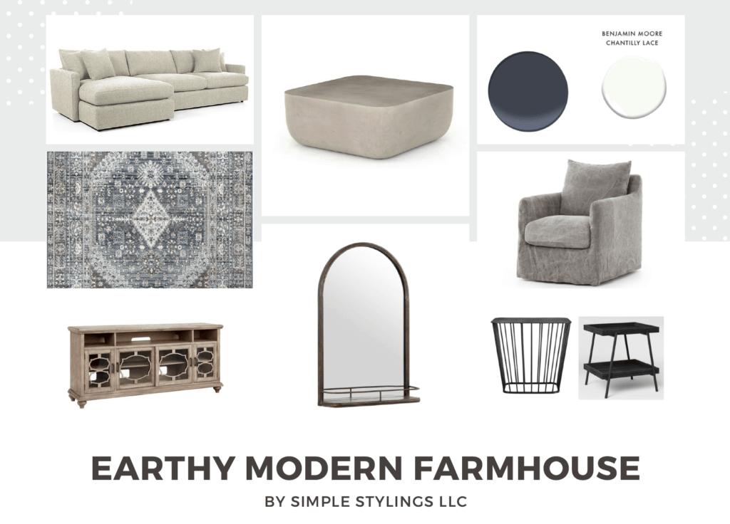 Earthy Modern Farmhouse Design #2
