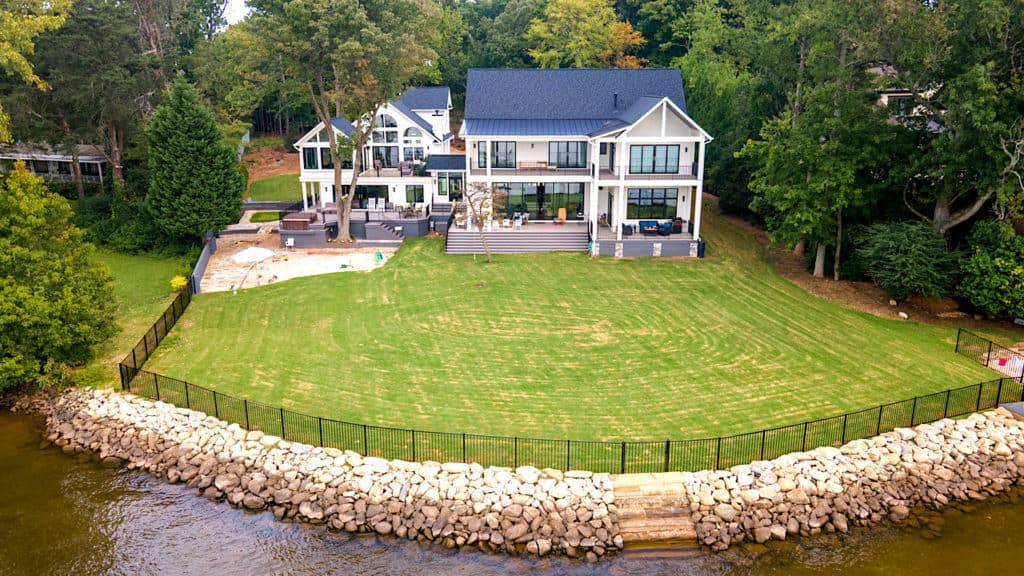 Home of the Month: A Laid Back Lake House back